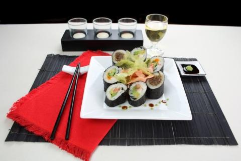 sushi vino